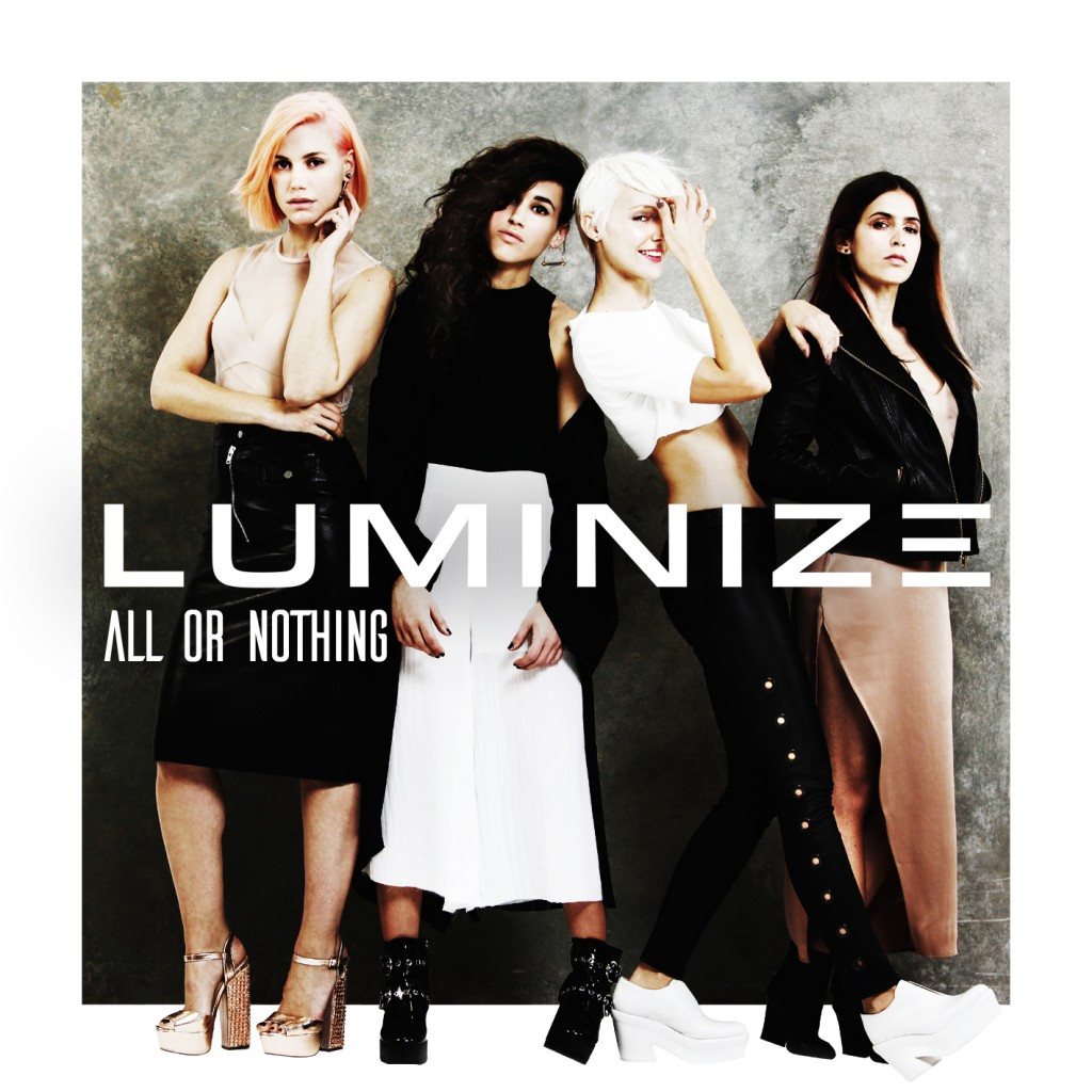 LUMINIZE - ALL OR NOTHING - COVER LOWRES