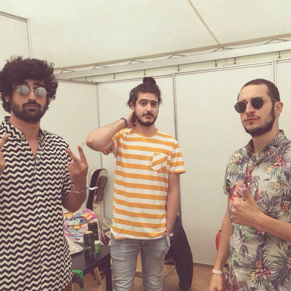 SZIGET 2016 JC BACKSTAGE