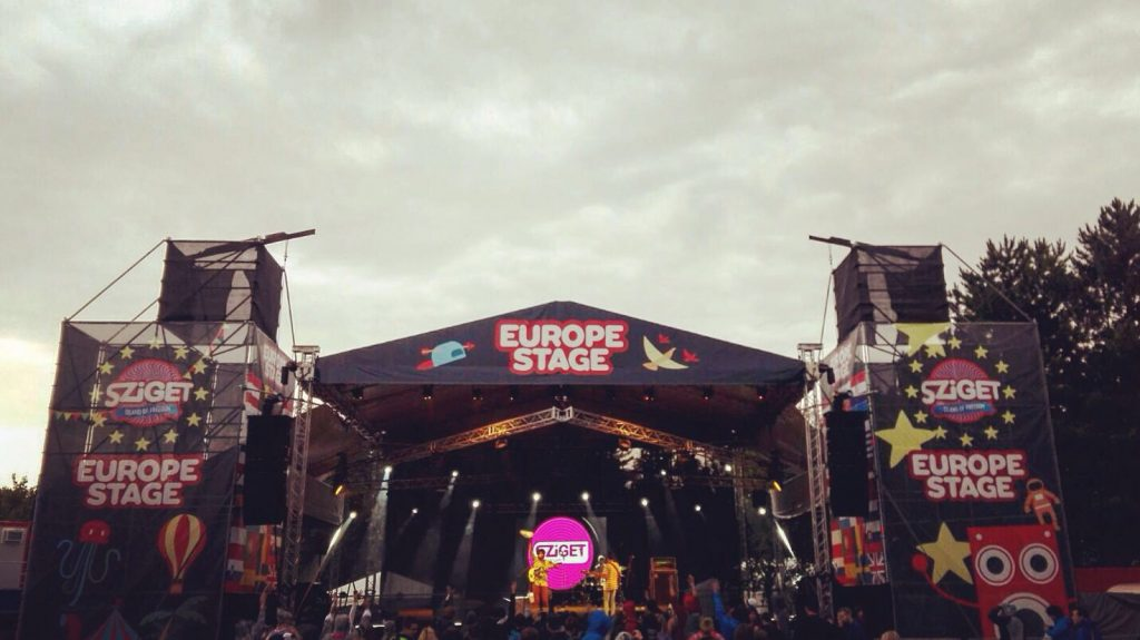 SZIGET 2016 JC Europe Stage far
