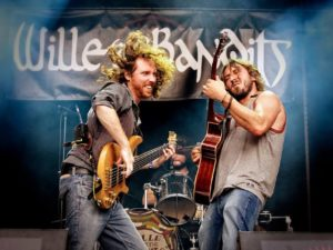 Wille & The Bandits voor twee shows naar Nederland
