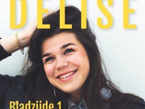 'Bladzijde 1', debuutalbum van Delise nu verkrijgbaar