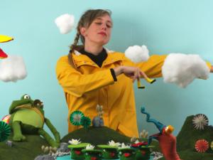 Albertine maakt creatieve stopmotion video voor haar nieuwe single 'Drops'