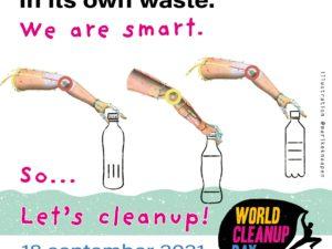De wereld verdrinkt in haar eigen afval; 'We Are Smart' roept op tot actie tijdens World Clean Up Day op 18 september 2021