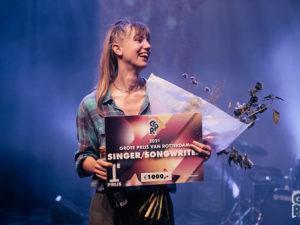 Albertine wint Juryprijs Singer/songwriter in de Sena Performers Grote Prijs Van Rotterdam